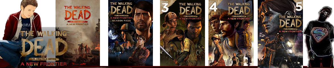 The Walking Dead: A New Frontier Episode 01 ao 5 – PC