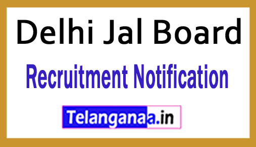 Delhi Jal Board Recruitment