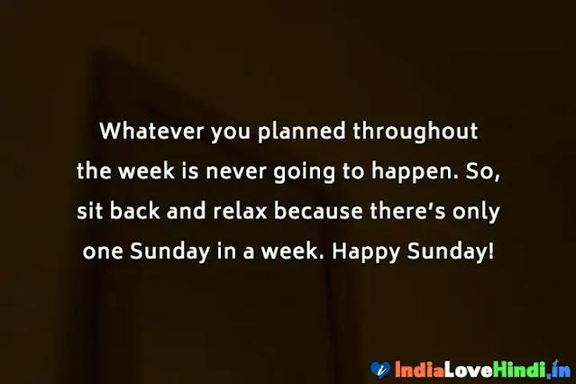 inspirational sunday messages