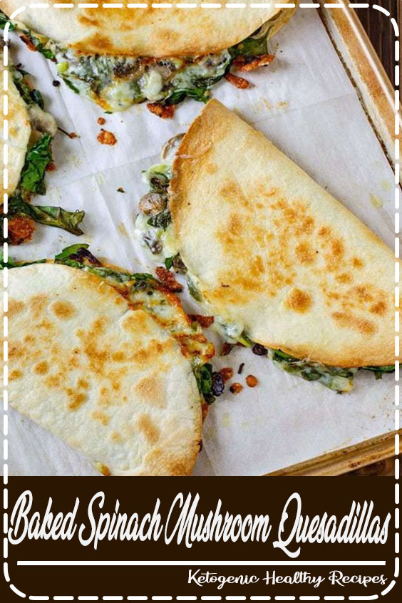 My favorite quesadilla recipe! These are crispy, delicious, and chock full of nutrition. And baking these quesadillas allows you to make many at once, so you can feed your