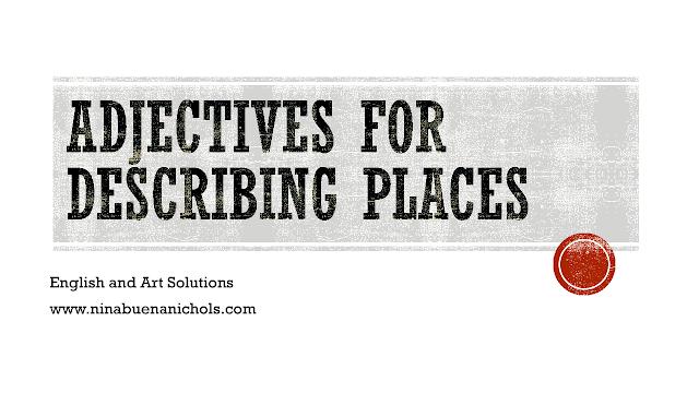adjectives for describing places