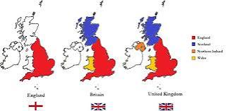 İngiltere Galler kuzey İrlanda bu ülkelerin genel adi