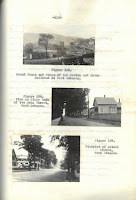 three photographs of Lebanon including the train roundhouse in West Lebanon