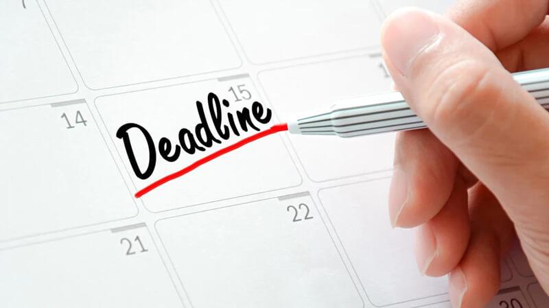 6 Cách giúp bạn luôn hoàn thành Deadline