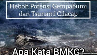 Kabar Berita Terbaru Hari Ini Penjelasan TERBARU BMKG Soal Potensi Gempa 8,8 SR Disertai Tsunami Setinggi 20 Meter di Selatan Jawa