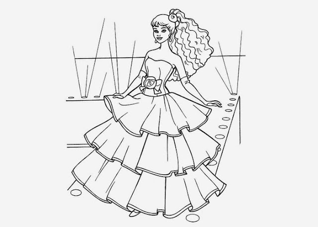 Barbie free printable coloring pages holiday.filminspector.com