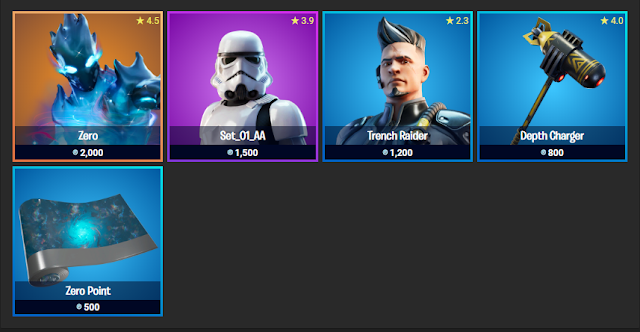 Fortnite Item Shop November 16, 2019