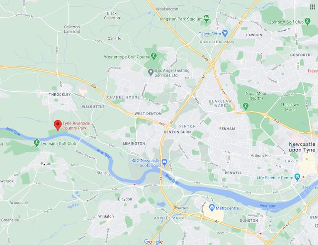 Tyne Riverside Country Park (Newburn) | Information & Photos  - map