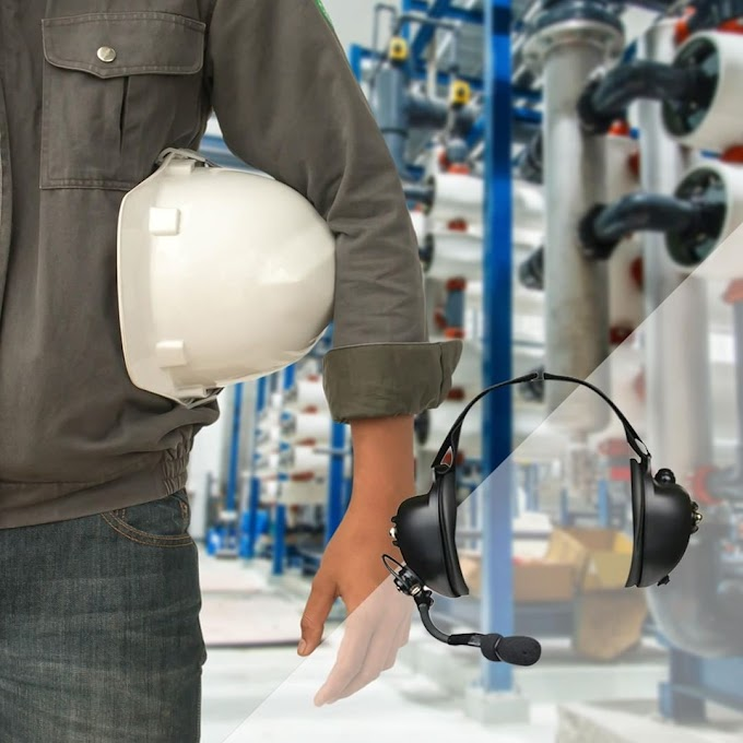 High Noise Headsets for Industrial, Manufacturing and Construction Workers