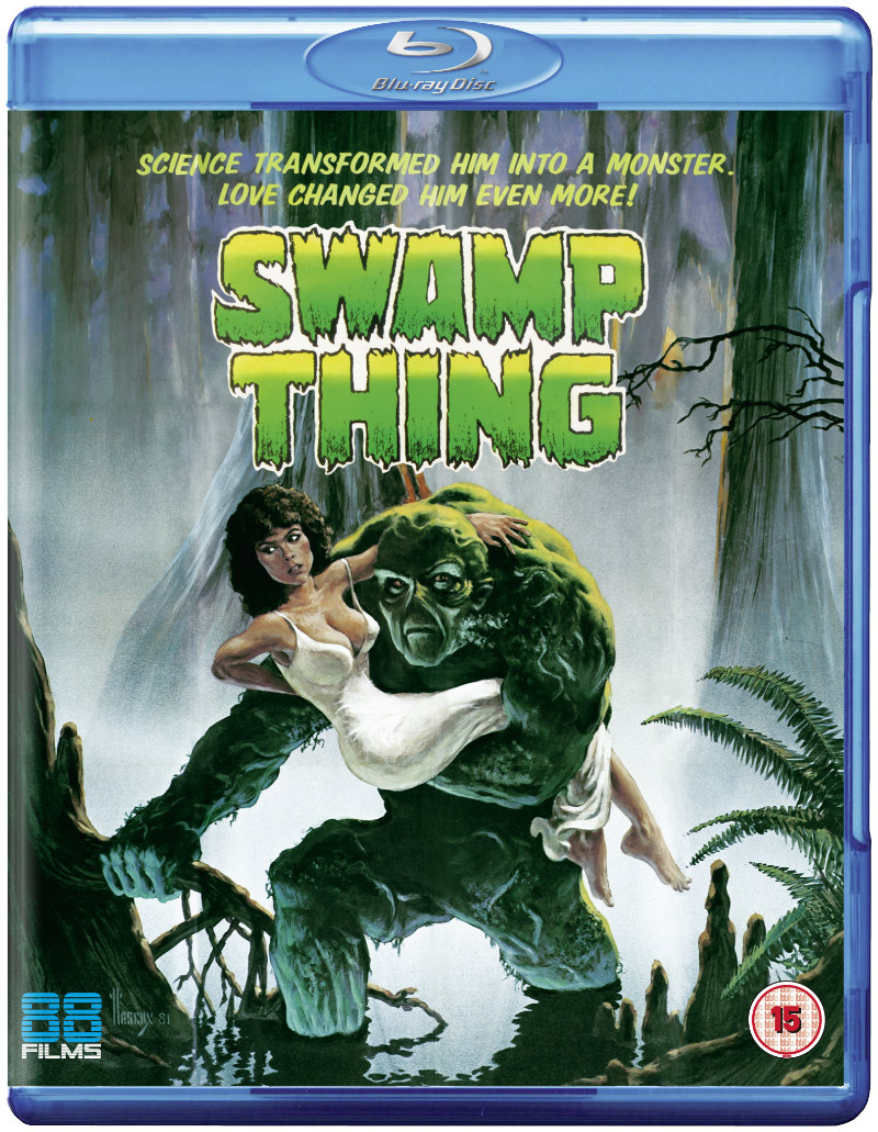 swamp thing blu-ray