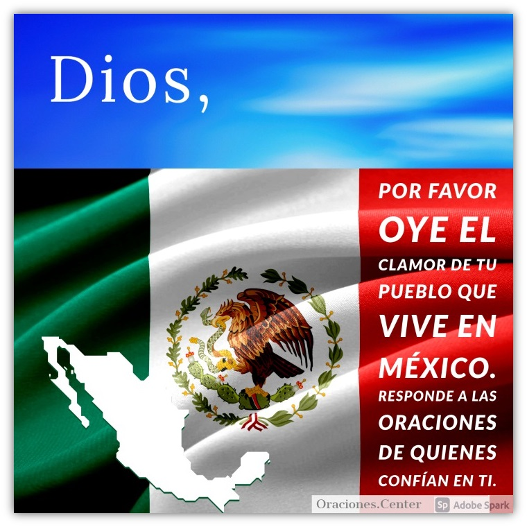 Oraciones por México - Covid-19, Temblores y Terremotos
