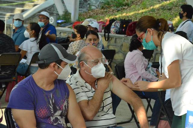 Avanza vacunación a personal educativo de Chiapas, Coahuila, Nayarit, Tamaulipas y Veracruz