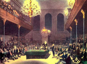 The House of Commons,  from The Microcosm of London (1808-10)