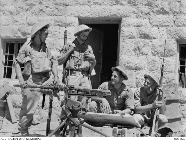 Australian soldiers in Syria 9 June 1941 worldwartwo.filminspector.com