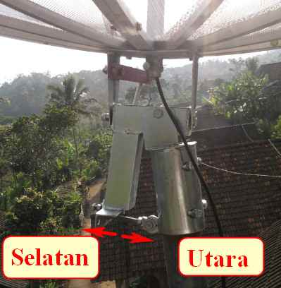 Cara Tracking CTN, CNC dan My TV Satelit Apstar 6