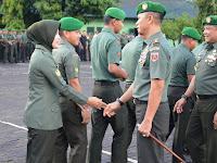 Kolonel Inf Suwarno S.A.P Halal Bihalal Dengan Seluruh Personil Korem 141/Tp