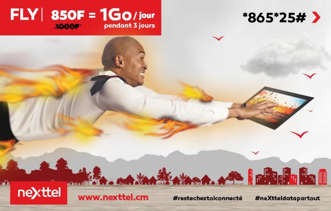 Nexttel Cameroon 3GB