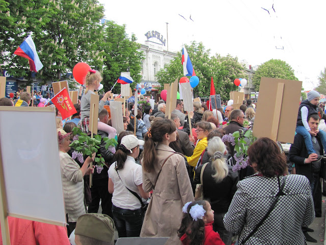 Парад Победы 9 мая в Симферополе