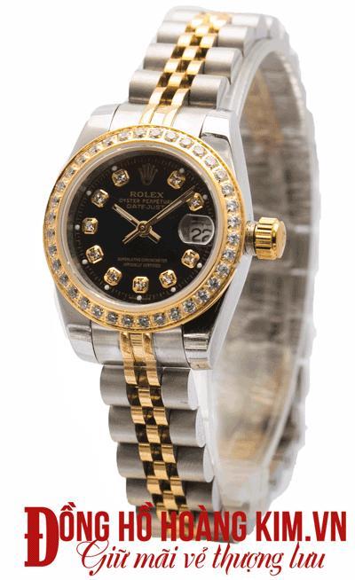Đồng hồ nữ rolex dây sắt