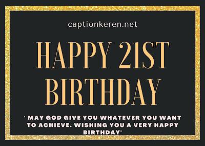 ucapan selamat ulang tahun ke 21