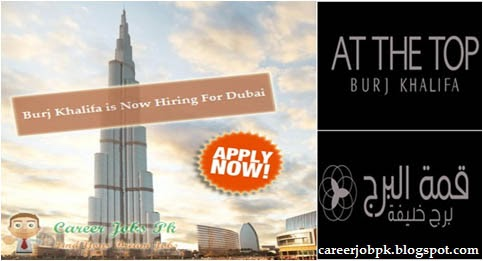 Jobs in Burj Khalifa Dubai 2016