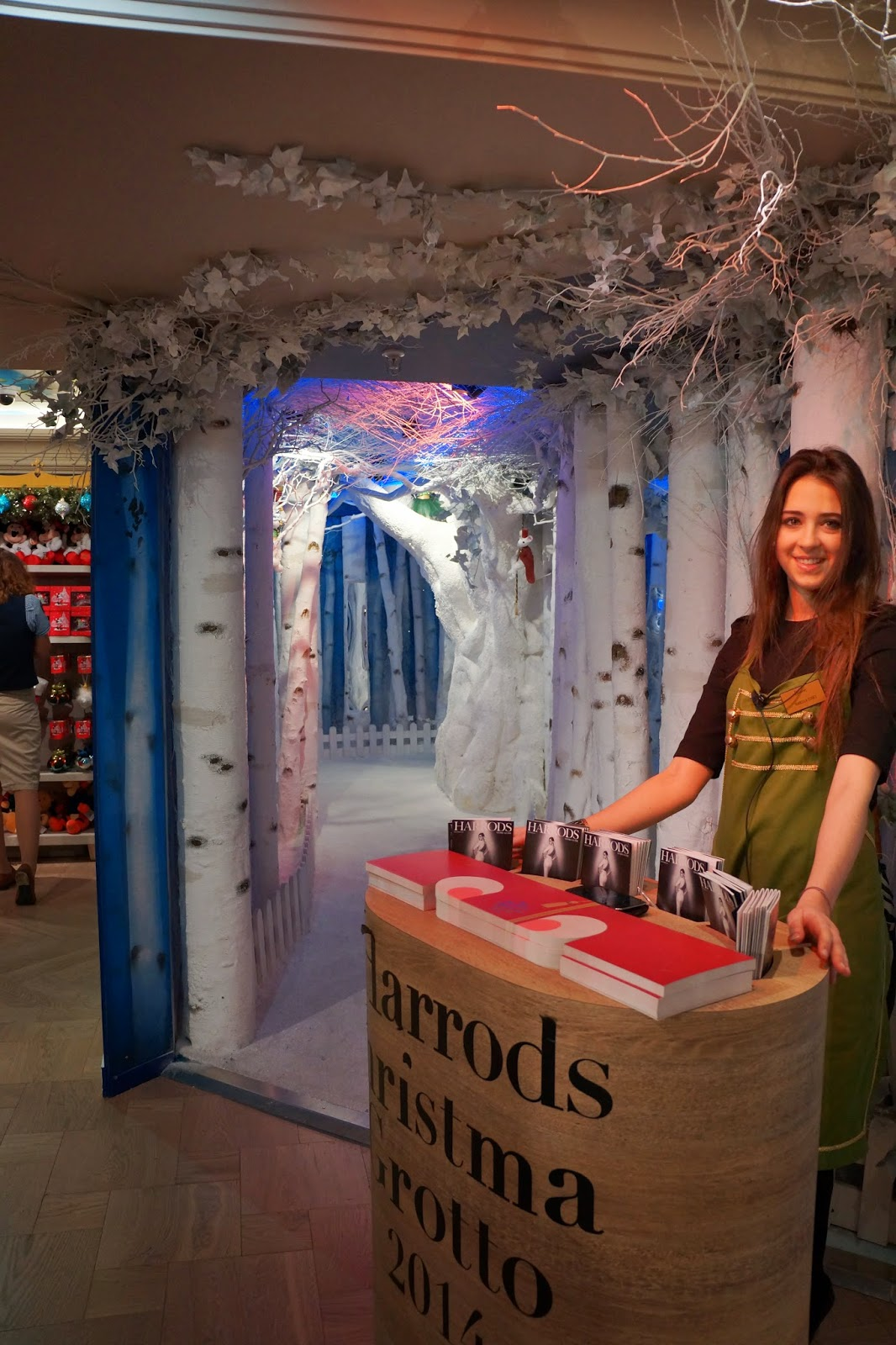 harrods christmas grotto 2014 entrance