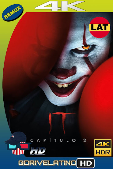 It. Capítulo 2 (2019) BDRemux 4K HDR Latino-Ingles MKV
