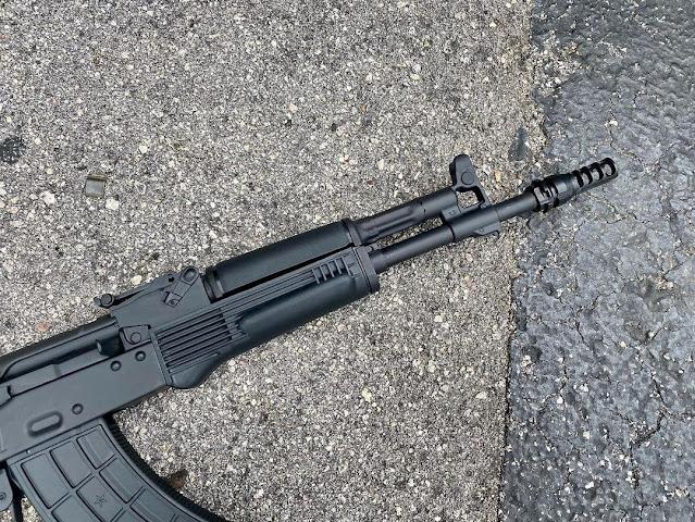 CW-Gunwerks-Black-Polymer-Romanian-AKM-Suppressor-Ready-Barrel-Handguard