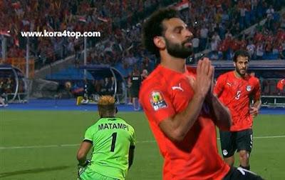 أهداف مصر والكونغو وملخص المباراة فى كأس أمم أفريقيا (فيديو)