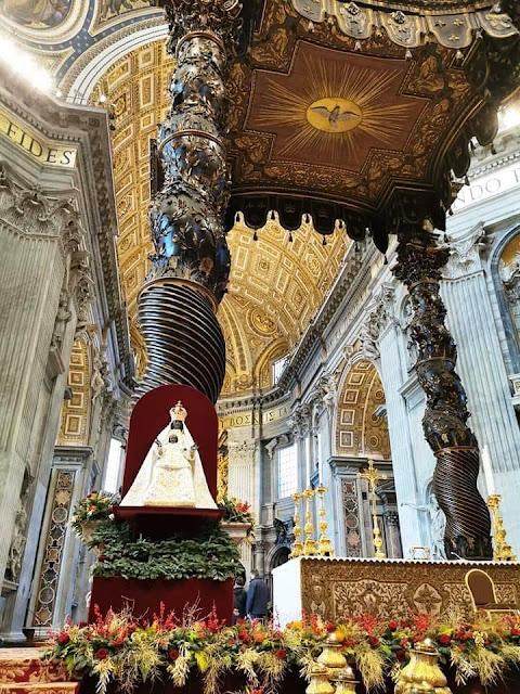 """La Madonna """"nera"""" dell'Incoronata in Vaticano a San Pietro. Un ritorno dopo 25 anni"""