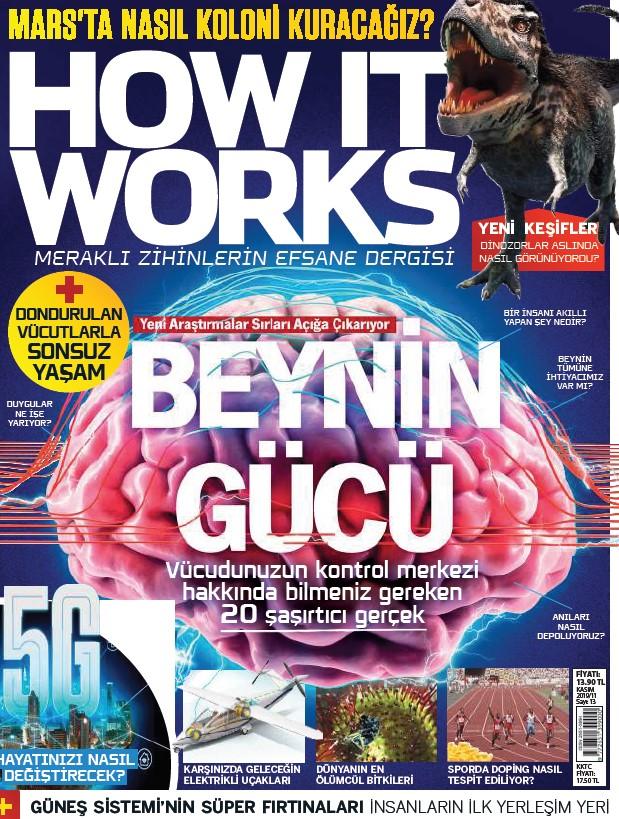 How It Works Türkiye Kasım 2019 PDF indir