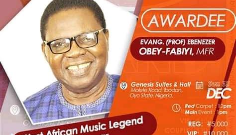 Tribute To Ebenezer Obey Fabiyi(Happy 78th Birthday Celebration)