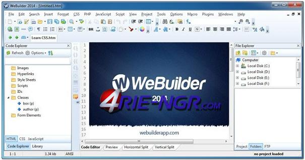 blumentals web builder