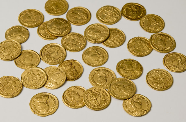 Hoard of Roman gold coins found in Netherlands