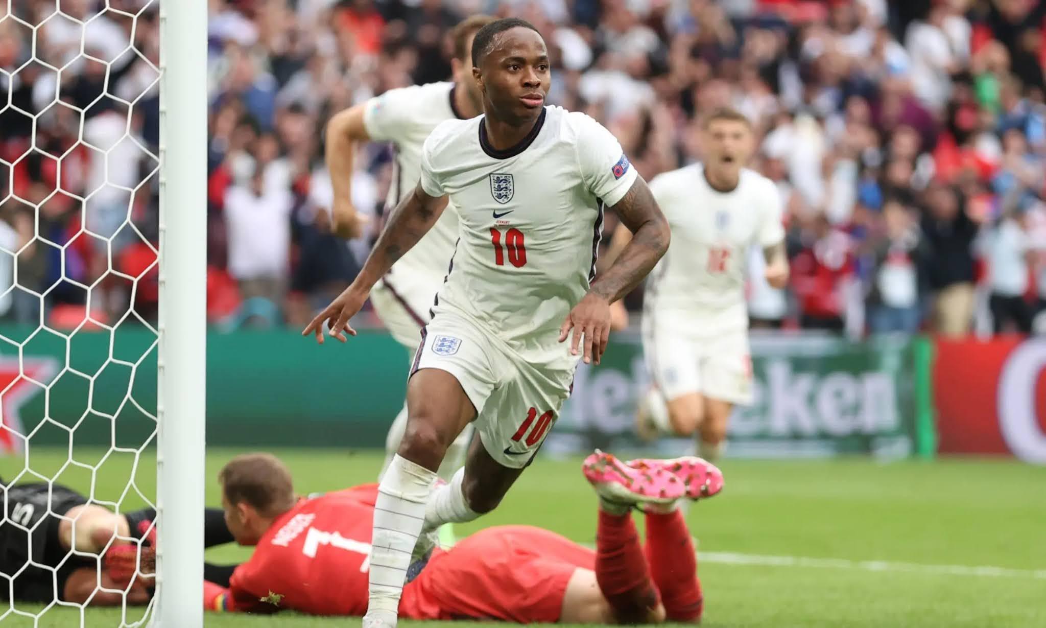 England 2-0 Germany