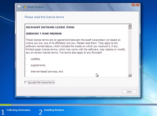 license of windows 7 in hindi