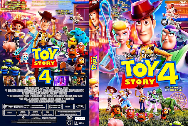 Toy Story 4 DVD Cover