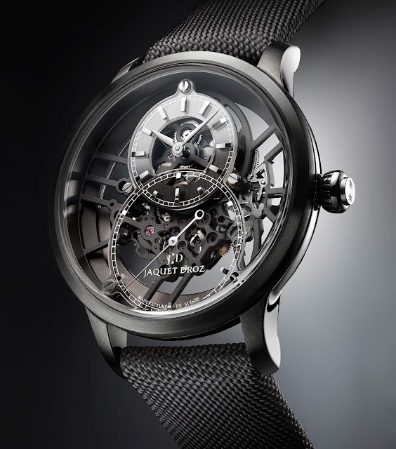 Jaquet Grande Seconde Skelet-One Plasma Ceramic ref. J003525542