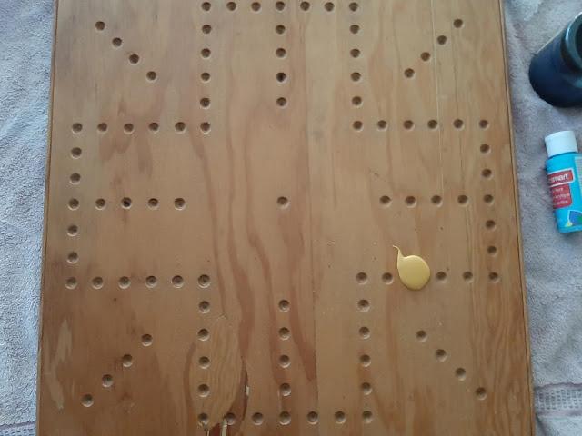 wood game board