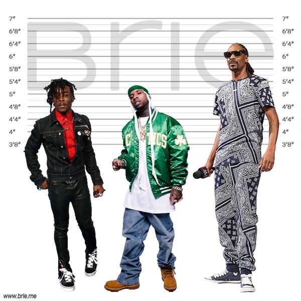 Tory Lanez with Lil Uzi Vert and Snoop Dogg