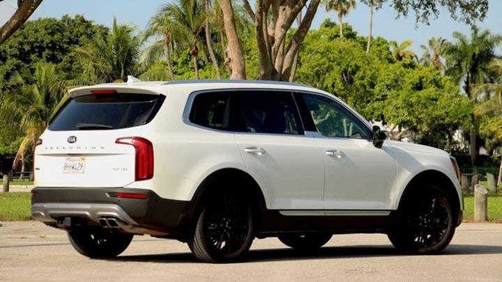Kia Telluride Nightfall Edition 2021 gây khó cho Hyundai Palisade