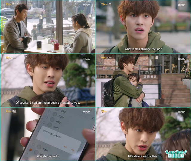 se gun meet with nan hee and delete his contact from her phone - Queen of the Ring: Episode 3 Review (Three Color Fantasy)