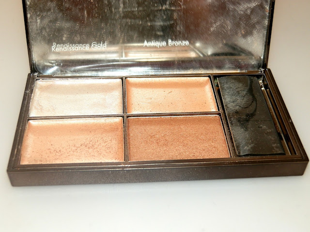 Sleek Makeup Precious Metals Highlighting Palette Swatches