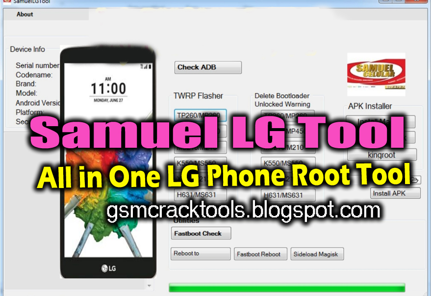 Samuel LG Tool All in one Lg Phone Root Tool 2019 Free