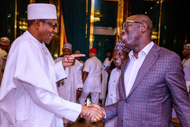 Edo Election: How President Buhari Reacted To Obaseki's Stunning Victory Over Ize-Iyamu