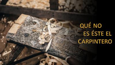 Evangelio según Marcos 6,1-6: Qué no es éste el carpintero