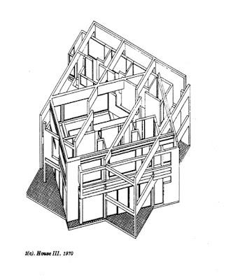 House III, Peter eisenman 1970