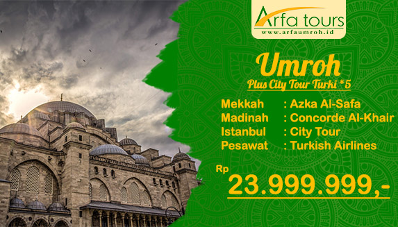 umroh pls trk bintang 5 september 2019 arfa tour