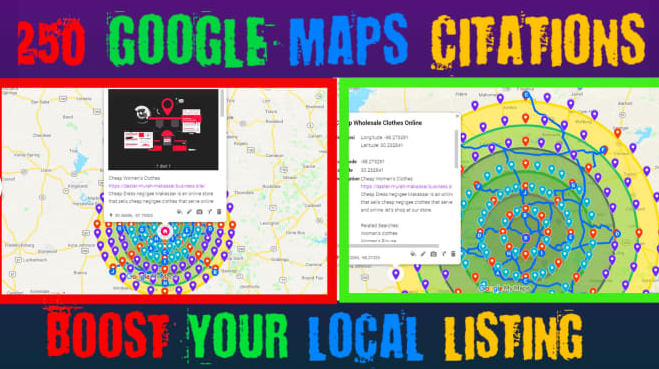 I Will Create 3.000 Google Maps Citations For Local Business GMB