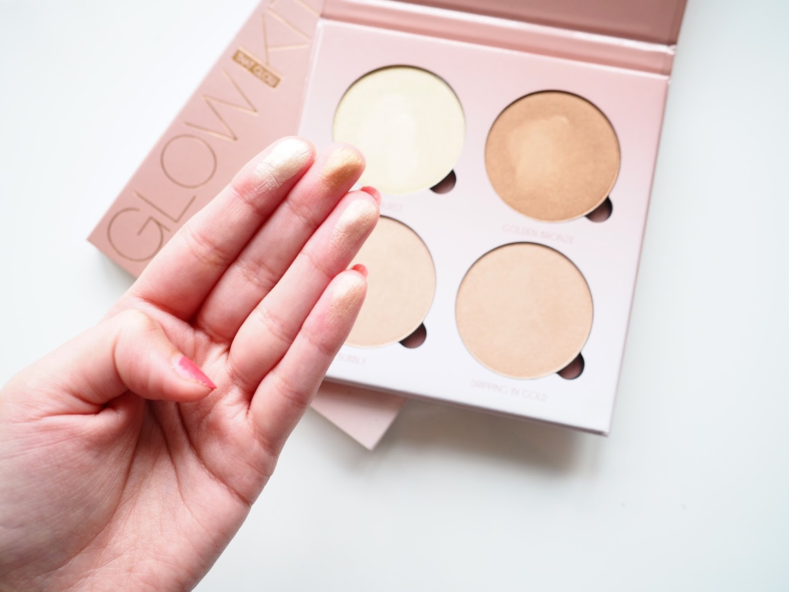 It's Cultured - Anastasia Beverley Hills Shimmery Highlight Glow Kit Swatches and Colour